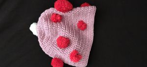 Pink and red hat Crochet for Sale in Antioch, CA