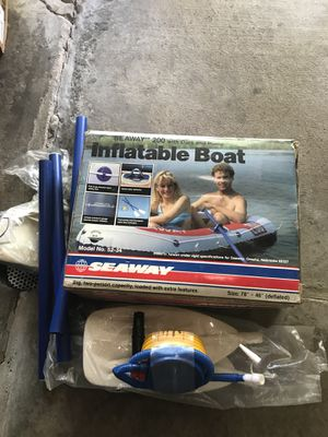 Seaway inflatable boat for Sale in Round Lake, IL