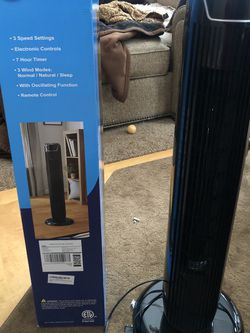 36 Inch Tower Fan Intertek for Sale in Boise,  ID