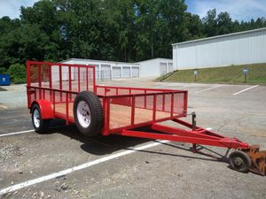 7x12 3500 of axle with spare 5k jack long Chong 2 and 5/16 coupler for Sale in Easley, SC