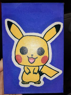 Pokemon canvases for Sale in Long Beach, CA