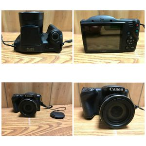 Canon PowerShot SX400 IS 16.0 MP Black Digital Camera for Sale in Allentown, PA