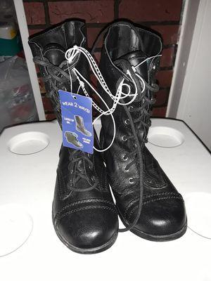 NWT Beautiful,black Cherokee boots(size 2). for Sale in Atlanta, GA
