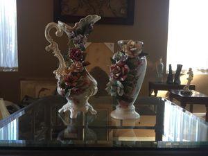 Floral ceramic for Sale in Perris, CA