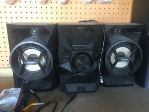 Sony stereo with Bose speaker for Sale in Las Vegas, NV