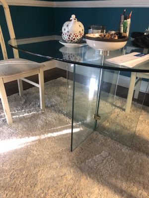 Antique glass table for Sale in Washington, DC