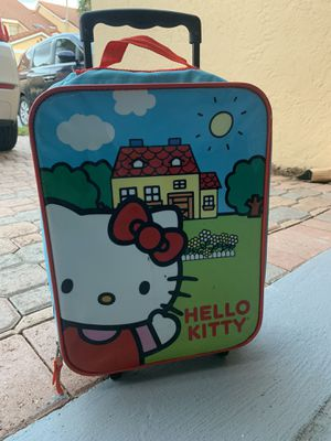 Kids carry-On Wheeled luggage Hello Kitty for Sale in Boca Raton, FL