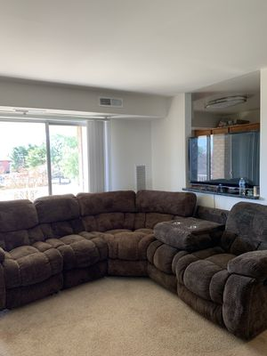 MOVING SALE! 5 pc living room sectional for Sale in Alexandria, VA