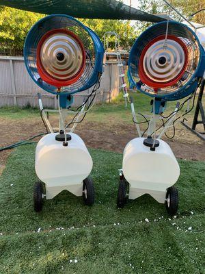 Ventiladores de brisa para refrescar para exterior ideal para un fin de semana con la familia refrescante for Sale in Fresno, CA