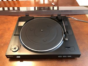 Sony PS-LX300USB Stereo turntable System full automate USB Vinyl Record Player for Sale in Carol Stream, IL