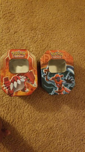 Two pokemon card tins for Sale in Greece, NY
