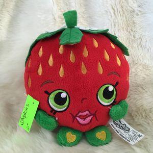 Shopkins/ Strawberry kiss stuffed animal for Sale in Menifee, CA
