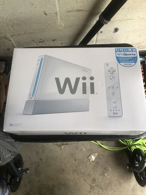 Wii Console for Sale in Oxon Hill, MD