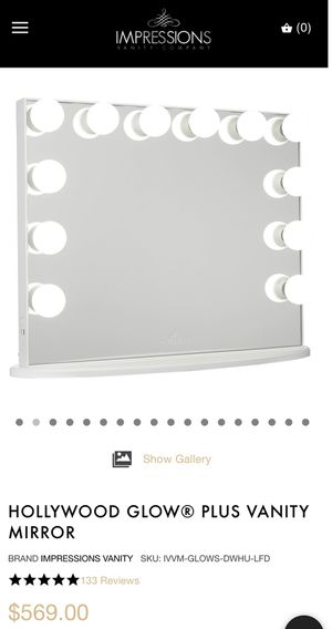 Impression Hollywood Vanity Mirror for Sale in Tampa, FL