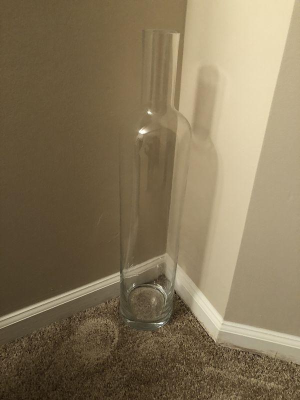 """Glass vase 28"""""""