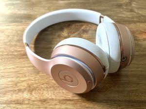 Beats solo 3 rose gold wireless headphones for Sale in Seattle, WA