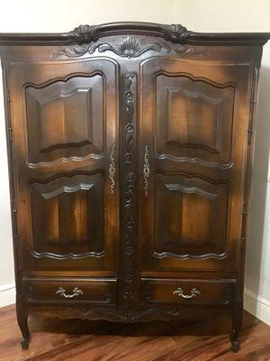 Antique Armoire or Wardrobe for Sale in Miami, FL