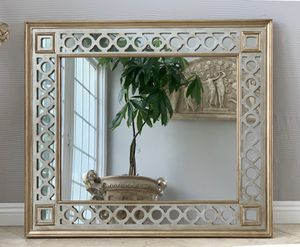 """41""""x35"""" Gorgeous Gold and Silver mirror, Absolutely beautiful and universal for Sale in Laguna Niguel, CA"""