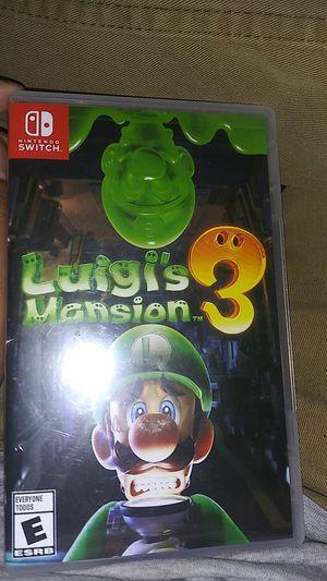 Luigi's mansion 3 for Sale in Garland, TX