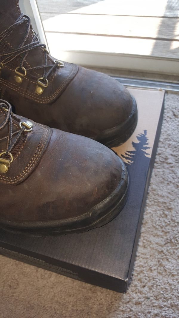 Red Wing Irish Setter Steel Toe Boots Size 10