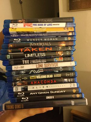 Brand new DVDs and blu rays for Sale in Carson, CA