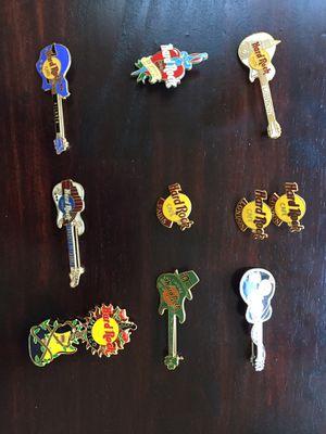 Lot of 10 Hard Rock Cafe pins for Sale in Rockville, MD