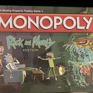 Rick And Morty Monopoly for Sale in Aliso Viejo, CA
