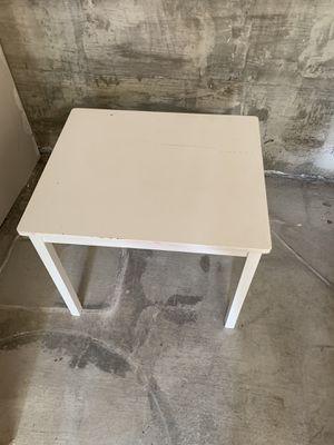 White IKEA kids table for Sale in Alameda, CA