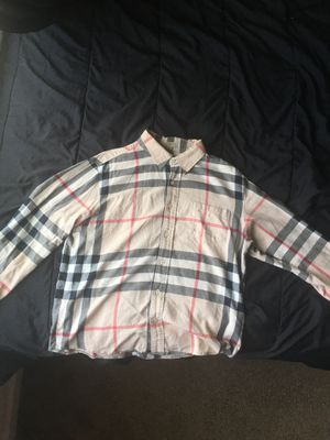 Burberry Long Sleeve T-Shirt (Size L) for Sale in Clayton, NC