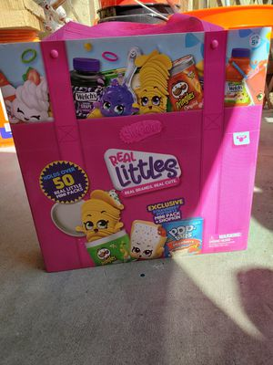 Shopkins Real Littles Case Storage for Sale in San Marcos, CA