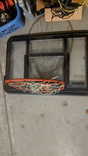 Lifetime basketball hoop for Sale in Raleigh, NC