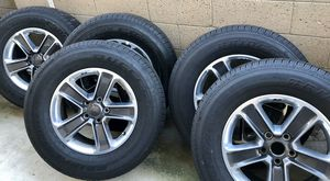 Jeep Wrangler wheel and tires for Sale in Huntington Beach, CA