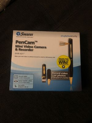 Pen Cam, mini video camera and recorder for Sale in Bellevue, WA
