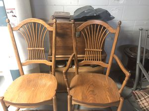 Solid Wood Chair's for Sale in Jordan Mines, VA