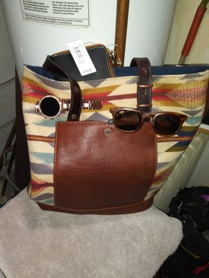 Michael Kors watch, Dooney & Burke wallet, Maui Jim sunglasses and Pendleton tote bag for Sale in Wheat Ridge, CO