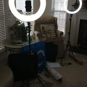 21 Inch LED Selfie Ring Light Kit for Sale in Silver Spring, MD
