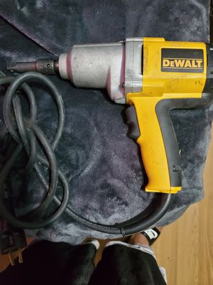 DEWALT Corded Impact Wrench with Detent Pin Anvil, 1/2-Inch, 7.5-Amp (DW292) for Sale in Salt Lake City, UT