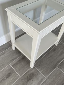 IKEA Liathorp White Accent Table for Sale in Windermere,  FL