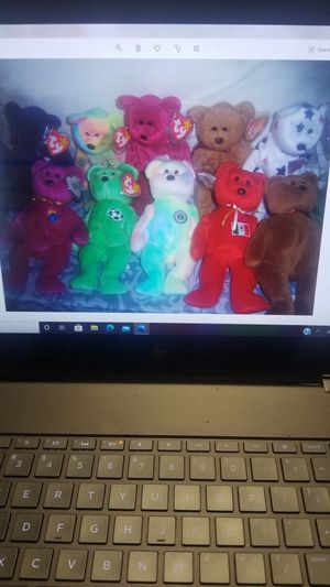 TY Beanie Babies set of 10 bears. for Sale in Brooklyn, NY