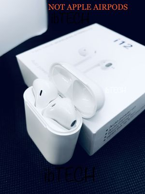 i12 TWS Bluetooth 5.0 Earbuds / Wireless Headphones for iPhone and airpods for Sale in Upper Darby, PA