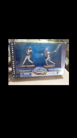 Starting Lineup 2 Classic Doubles Ken Griffey Jr. & Andruw Jones Action Figure for Sale in Tamarac, FL