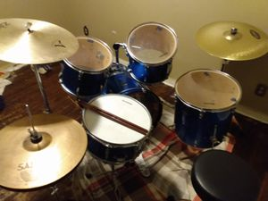 Ludwig 5pice combo cobcalt blue for Sale in West Memphis, AR