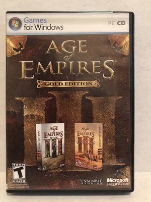 Age of Empires Gold Edition for Sale in Murfreesboro, TN