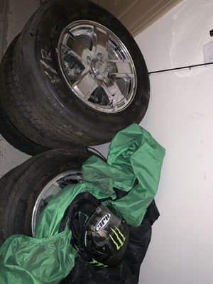 "Jeep Grand Cherokee Chrome 17"" Rims & Tires for Sale in Denver, CO"