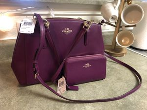 Brand New Coach Purse and Wallet!!! for Sale in Wichita, KS