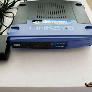 Linksys - (4) - Port Cable/DSL - Router Model: - BEFSR41 for Sale in San Rafael, CA
