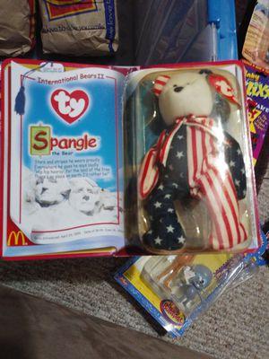 Beanie babies Spangle international bear for Sale in Goodlettsville, TN