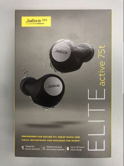 Wireless earbuds Jabra Elite active 75t. New sealed. Pick up only!!!! for Sale in Beverly Hills,  CA