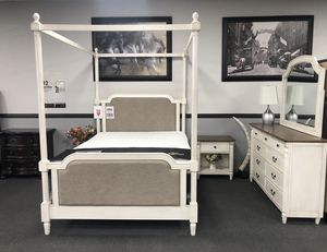 4PC Queen Bedroom Set on SALE 🔥🇺🇸4th July Special 🇺🇸 for Sale in Fresno, CA
