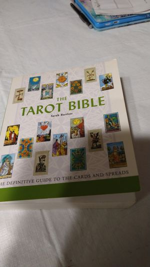 The Tarot Bible by Sarah Barlett for Sale in Fort Lauderdale, FL